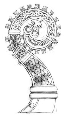 How to build your oseberg tent tutorial Vikings Celtic Celtic Tatoo, Tatto Viking, Viking Tattoos, Celtic Art, Celtic Dragon, Vikings Art, Norse Vikings, Rune Tattoo, Norse Tattoo
