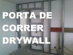 Como Instalar KIT Porta de Correr Parede Drywall ? São Paulo SP