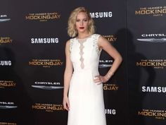 """Jennifer Lawrence attends the Los Angeles premiere of """"The Hunger Games: Mockingjay - Part 2"""" at the... - Brian To/WENN"""