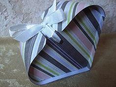 Heart box tutorial. Быстро и легко! Коробочка-сердечко. | Ярмарка Мастеров - ручная работа, handmade