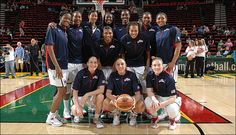 The United States women's basketball Olympic roster is pleased to see speculation morph to jubilation as the 2012 Olympic Games approach. No matter where they finish, they represent an historic group, as the United States will send more women than men for the first time since they participated in the largest international stage for athletics.