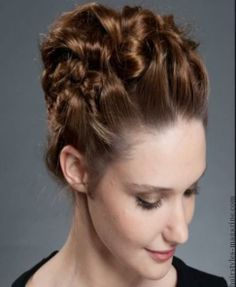 braided updo hairstyle The Coolest Hairstyles for Medium Length Hair