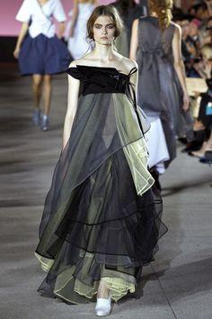 Lara Mullen walking John Galliano Spring '13 RTW #runway #fashion