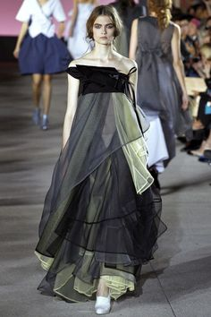 Lara Mullen walking John Galliano Spring '13 RTW #runway #fashion
