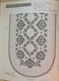 Kira scheme crochet: Scheme crochet no. 522