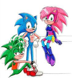 Sonic Underground by sonicstarr.deviantart.com on @deviantART