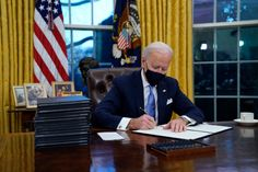 Biden's first steps as president: Action on covid and climate   MIT Technology Review Joe Biden, Executive Order, The Plan, Donald Trump, Bay Area, Jen Psaki, Federal