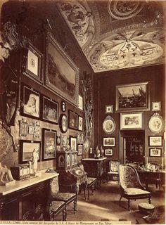 San Telmo Palace, Sevilla, Spain. The Duke's Cabinet