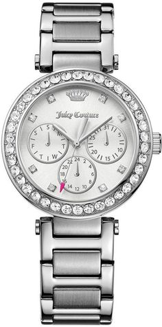 Juicy Couture Silver Cali Watch