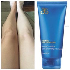 Finally! A self tanner that really works. Arbonne Liquid Sunshine is AMAZING! Order today at www.sarahvaughn.a...