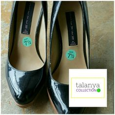"""Steven, by Steve Madden Lemore Pumps Patent leather, brown platform.  4"""" heel with .75"""" platform.  Runs wide. Great condition, only worn a few times. Steven by Steve Madden Shoes Heels"""