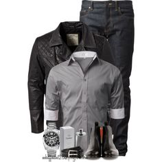 """Men's Wear"" by mhuffman1282 on Polyvore"