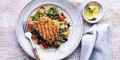 Kale Recipes, Pork Recipes, Recipes Using Pork Fillet, Healthy Liver, Liver Diet, Pork Medallions, How To Cook Pork, Canned Black Beans