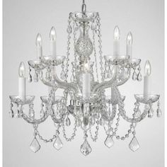 You'll love the 10 Light Crystal Chandelier at Wayfair - Great Deals on all Home Improvement products with Free Shipping on most stuff, even the big stuff.