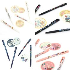 These adorable pens come in a ton of different designs and colors! Check out the photos to see more!