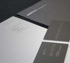 Very professional and nice use of metallic type.