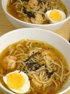 Anita Cocinitas: Sopa china en 10 minutos