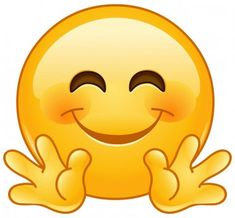 Smileys, Clipart, Images Emoji, Free Emoji, Smiley Emoji, Caricature, His Eyes, Hug, Symbols