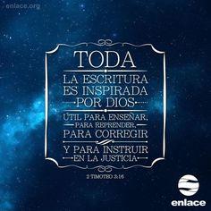 ¡La Palabra de Dios me inspira! ¿Cuáles versículos de la Biblia han marcado tu vida?