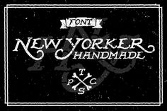 """Inject some """"hand-lettering"""" into your designs with this new font. Only $15 from Creative Market. 
