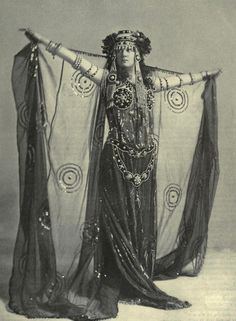 miss walsh in stage costume, 1902 - BAM!