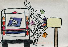God, it would be awesome to be the Postsecret mailman