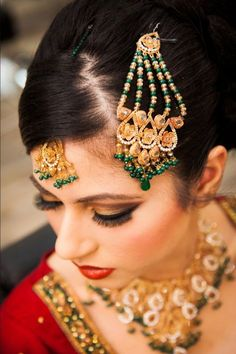 Latest Jhoomar Designs For Indian Brides 2015 have the trendy and exclusive designs. All over the world marriage is considered to be very important day in every one's life.On the day of weddi…