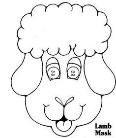 Happy Lamb Mask