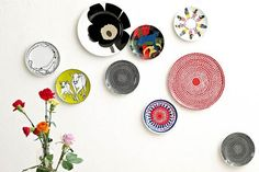 well now that's a cute idea...  marimekko tableware