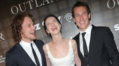 Caitriona Balfe and Sam Heughan and Tobias Menzies| Outlander' Cast and Crew Celebrate New York Screening