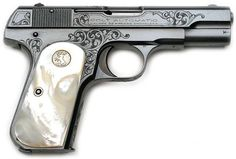 """Factory """"A"""" engraved Colt 1903 Pocket Hammerless .32 ACP serial number ..."""