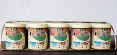 Vintage Farmhouse Kitchen Decor Spice Tins & by vintageeclecticity, $29.00
