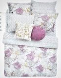 Style & Co. Company Florabella Floral Twin Comforter Set 3 Pieces Purp