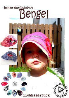 Hier kommt mein Bengel  Eine freche Kappe für Puppen Jungen Mädchen und die Großen  genäht werden kann sie für den Sommer oder gefüttert für den Winter, mit kürzeren Schirm (ohne Nahtzugabe)...