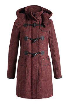 Esprit/ Wattierter Tweed Dufflecoat