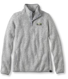 LL Bean's Sweater Fleece Pullover (This is way too expensive but I LOVE it! Maybe there's a cheaper alternative out there)