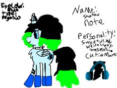 Shadow note(not my main)do not repin or steel please!!!!!!!!art by:rainbow beat