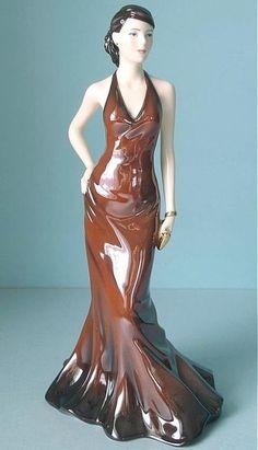 Royal Doulton Pretty Ladies Lisa Brown #HN 5261.