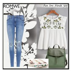 """""""Romwe contest"""" by ilda123 ❤ liked on Polyvore featuring By Lassen, Frame, Skagen, Nasty Gal, Élitis and Bobbi Brown Cosmetics"""