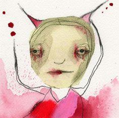 Original Mixed Media Painting Raw Art by Christina Romeo