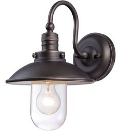 The Great Outdoors - Downtown Edison 1 Light Outdoor Wall Sconce