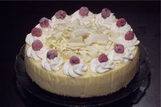 White Chocolate Cheesecake from Bread Winners Cafe and Bakery in Dallas, TX