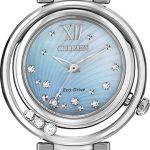 Citizen Eco-Drive EM0320-59D floating diamonds -40% Sale www.platinumestore.com