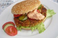 Vegetarischer Hamburger 8