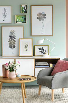 cuadros e ilustraciones con motivos vegetales