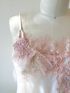 Sample Sale. One of a Kind Lace Ruffle Slip Top by thediamondseabridal on Etsy