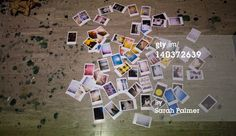 Royalty-free Image: Instant photographs scattered