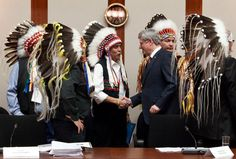 Harper of Canada has finally agreed to modernize and implement the ancient treaties that were always supposed to bring peace and prosperity to First Nations (Aboriginal and Tribal Nation News)