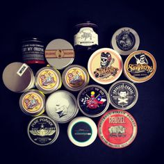 A pretty nice pomade order that went out today. Variety is golden. Which have you tried? www.pomade.com
