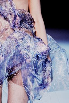 """Alexander McQueen S/S 2010 rtw, Plato's Atlantis"" Paris Fashion, Fashion Art, Runway Fashion, Fashion Show, Fashion Design, Couture Fashion, High Fashion, Atlantis, Alexander Mcqueen"